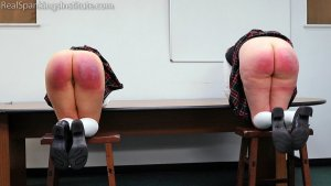 Real Spankings Institute - Kiki And Anastasia: Caught Without Panties (part 3) - image 6