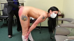 Real Spankings Institute - Lilith Is Caught With No Mask And No Bra (part 2 Of 2) - image 3