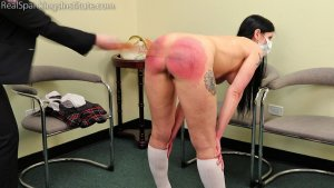 Real Spankings Institute - Lilith Is Caught With No Mask And No Bra (part 2 Of 2) - image 7