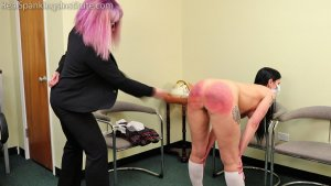 Real Spankings Institute - Lilith Is Caught With No Mask And No Bra (part 2 Of 2) - image 9
