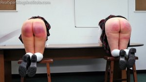 Real Spankings Institute - Kiki And Anastasia: Caught Without Panties (part 3) - image 5