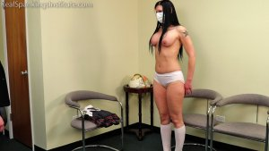 Real Spankings Institute - Lilith Is Caught With No Mask And No Bra (part 2 Of 2) - image 4