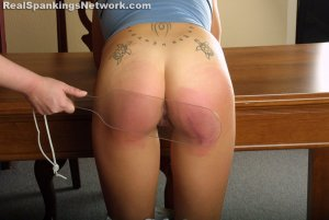 Real Spankings Institute - Jennifer Is Sent Up For Smoking And Drinking - image 4