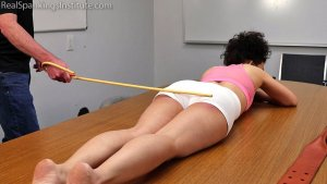 Real Spankings Institute - Punished For Not Wearing Her Mask During Pe (part 2) - image 7