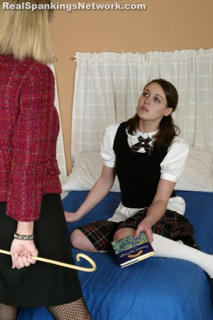 Real Spankings Institute - Melody Gets The Cane - image 1