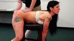 Real Spankings Institute - The Dean Spanks Lilith - image 2