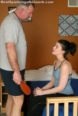 Real Spankings Institute - Kailee: Paddled For Not Participating - image 1