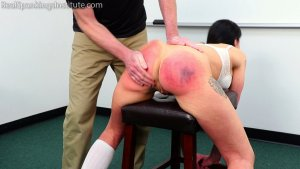 Real Spankings Institute - The Dean Spanks Lilith - image 4