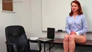Real Spankings Institute - Evyn Is Welcomed To The Institute - image 3