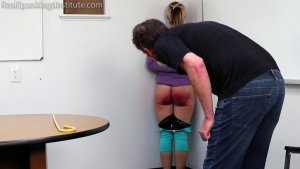 Real Spankings Institute - Punished For Not Wearing Her Mask At School (part 2) - image 9