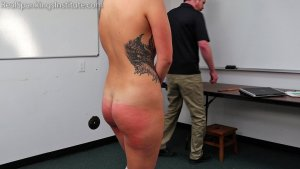 Real Spankings Institute - Cara's Academic Review With The Dean (part 2) - image 8