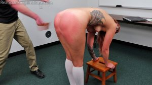 Real Spankings Institute - Cara's Academic Review With The Dean (part 2) - image 7