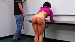 Real Spankings Institute - Kiki's Gym Punishment (part 2 Of 2) - image 7
