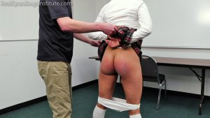 Real Spankings Institute - The Strapping Of A Schoolgirl - image 7