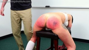 Real Spankings Institute - The Dean Spanks Lilith - image 7