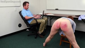 Real Spankings Institute - Evyn Is Welcomed To The Institute - image 7