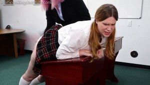 Real Spankings Institute - Alex: Spanked By Betty And The Dean (part 1 Of 3) - image 4