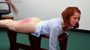 Real Spankings Institute - Evyn Is Welcomed To The Institute - image 4