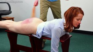 Real Spankings Institute - Evyn Is Welcomed To The Institute - image 6
