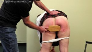 Real Spankings Institute - Alex Spanked By Betty And The Dean (part 3 Of 3) - image 2