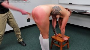Real Spankings Institute - Cara's Academic Review With The Dean (part 2) - image 9
