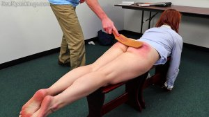 Real Spankings Institute - Evyn Is Welcomed To The Institute - image 5