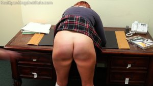 Real Spankings Institute - Cara: Caught Without Panties (part 1) - image 8