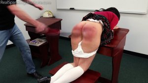Real Spankings Institute - Kiki: Rough Day With The Dean (part 1) - image 1