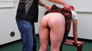 Real Spankings Institute - Michelle's Double Dress Code Violation (part 1) - image 10