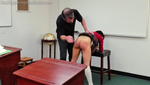 Real Spankings Institute - Asher And Kiki Spanked In The Classroom (part 3 Of 4) - image 6