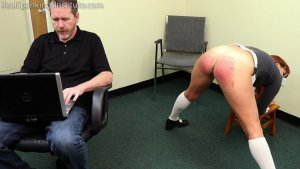 Real Spankings Institute - Cara: Caught Without Panties (part 2) - image 9