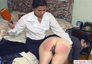 Girl Spanks Girl - Remastered Corrected Coeds - image 4