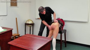 Real Spankings Institute - Asher And Kiki Spanked In The Classroom (part 3 Of 4) - image 4