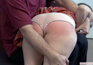 My Spanking Roommate - Clare Spanked By Neighbor - image 6
