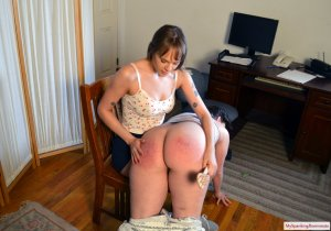 My Spanking Roommate - Angry Rebecca Spanks Kay - image 5
