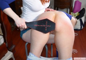 My Spanking Roommate - Veronica Spanks Her Aunt - image 4