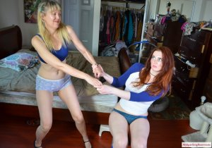 My Spanking Roommate - Veronica Spanks Her Aunt - image 6