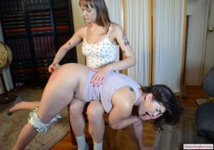 My Spanking Roommate - Angry Rebecca Spanks Kay - image 8