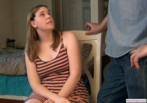 My Spanking Roommate - Alex Reynolds Spanked By Her Dad - image 2