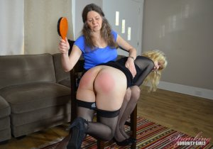 Spanking Sorority Girls - Clare Spanked By Miss Bernadette - image 4