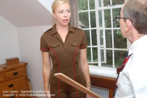 Firm Hand Spanking - Spanked In Uniform - J - image 2