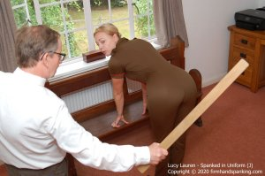 Firm Hand Spanking - Spanked In Uniform - J - image 3