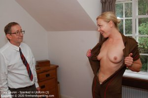 Firm Hand Spanking - Spanked In Uniform - J - image 6
