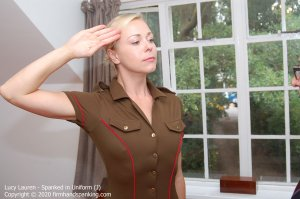 Firm Hand Spanking - Spanked In Uniform - J - image 5