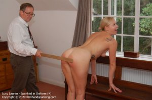 Firm Hand Spanking - Spanked In Uniform - K - image 8