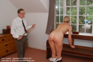 Firm Hand Spanking - Spanked In Uniform - K - image 6