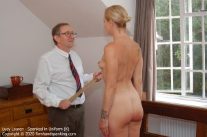 Firm Hand Spanking - Spanked In Uniform - K - image 3