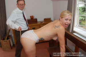 Firm Hand Spanking - Spanked In Uniform - K - image 5