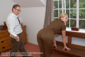 Firm Hand Spanking - Spanked In Uniform - J - image 8