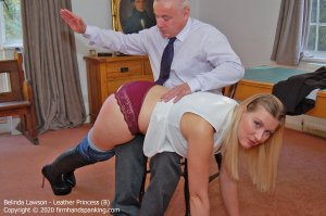 Firm Hand Spanking - Leather Princess - B - image 1